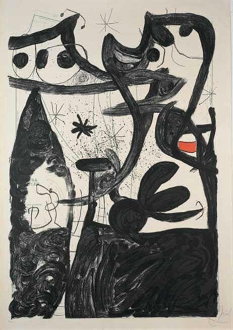 Joan Miró - Défile de mannequins au Pôle Nord