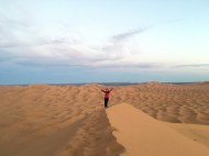 On the dune
