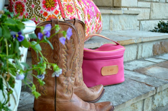 Preppy Southern Luggage Lucchese Cowboy Boots