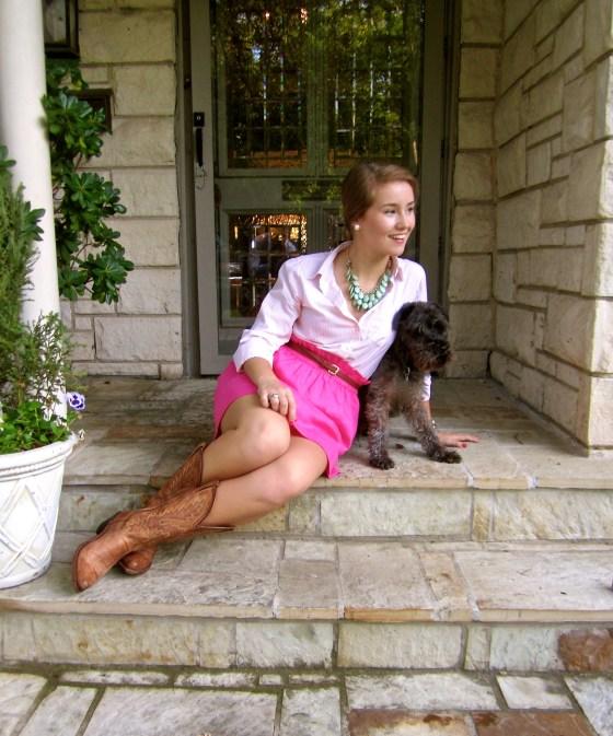 Preppy Southern Style Puppy