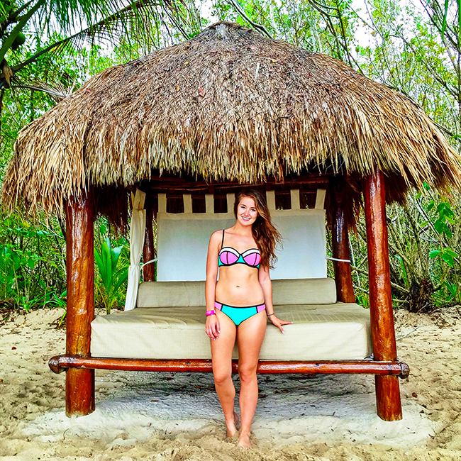 cruise style, what to wear on a cruise, triangle bikini, cozumel mexico, cruise outfits, royal caribbean, navigator of the seas, prettiest cruises