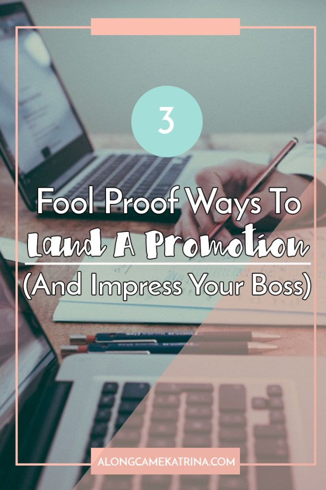 How To Land A Promotion
