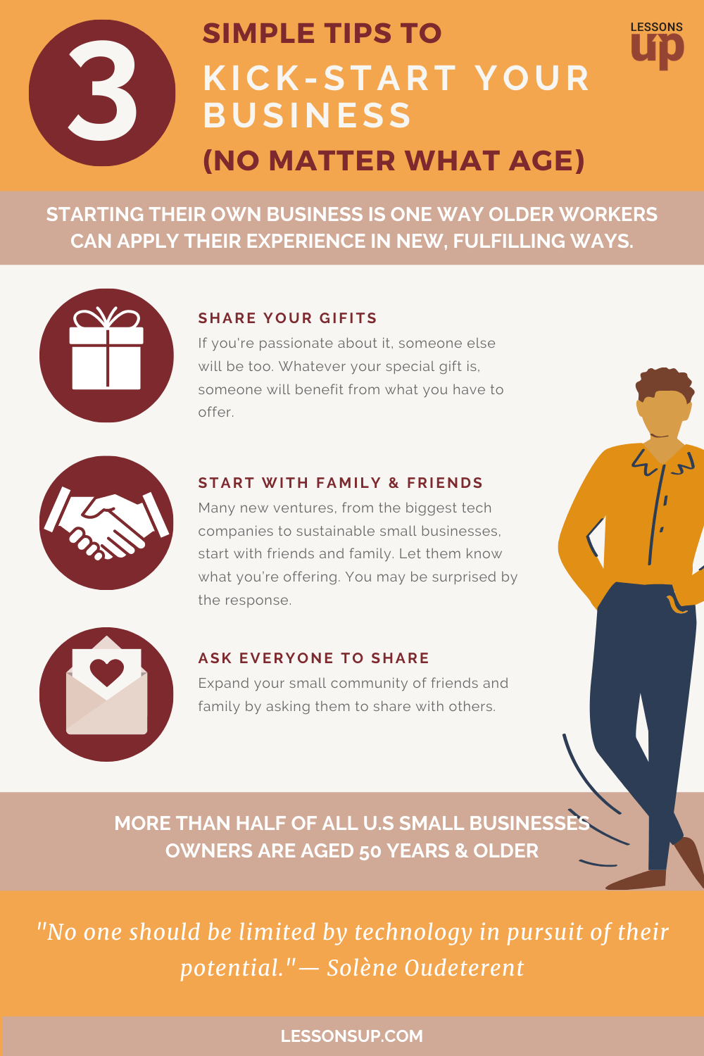 3 Simple Tips To Kick-Start Your Business (At Any Age)