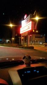 Krispy Kreme and a night drive
