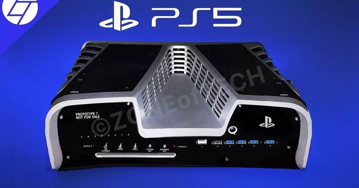 PS5's Devkit Looks Like a Monster in Visualisation