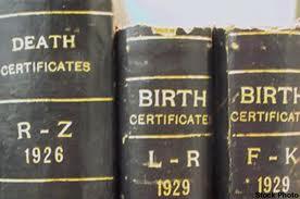 Vital Record Books