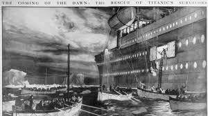 Carpathia Arrives….Titanic Survivors Are Rescued