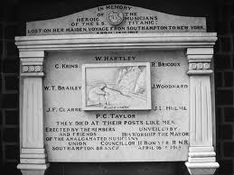 Titanic Musicians Memorial