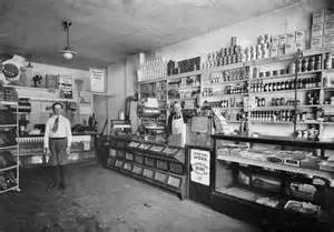 Typical 1924 Grocery Store