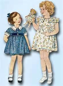 Shirley Temple pattern for Bloomer Dress