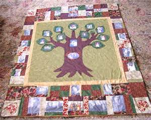 A family quilt makes a great gift