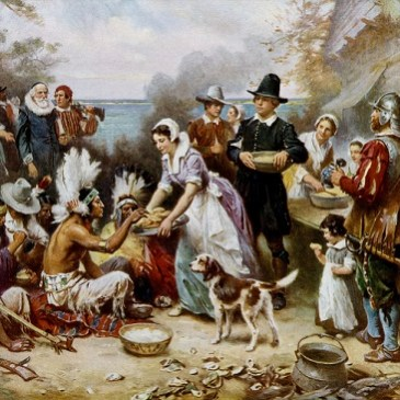 How did our Ancestors spend their Thanksgiving?