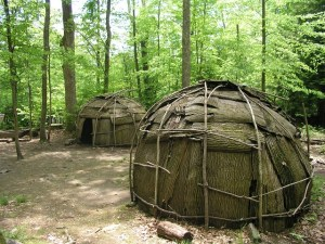 Native American Indian Village