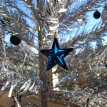 Christmas ornaments and themes are popular today
