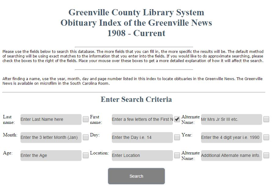 Genealogy Friday: Online Indexes Can Save Time