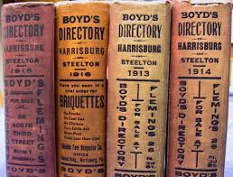 old City directories are a great resource for finding businesses and people