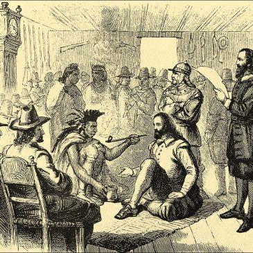 The Pilgrims: Meeting Chief Massasoit