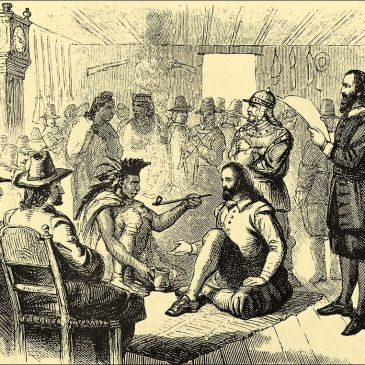 The Pilgrims: Meeting Chief Massasoit
