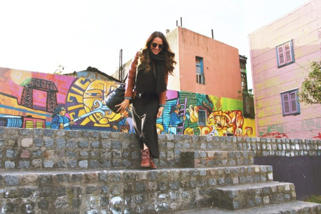 Winter wears in Buenos Aires via A Lo Profile