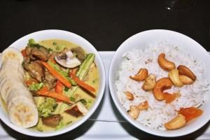 organic chicken curry from Zaza Bistro Tropical, Rio travel guide via A Lo Profile