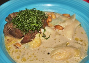braised lamb with potato ravioli from Zaza Bistro Tropical, Rio Travel guide via A Lo Profile