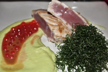 tuna and wasabi mashed potatoes from Zaza Bistro Tropical, Rio travel guide via A Lo Profile