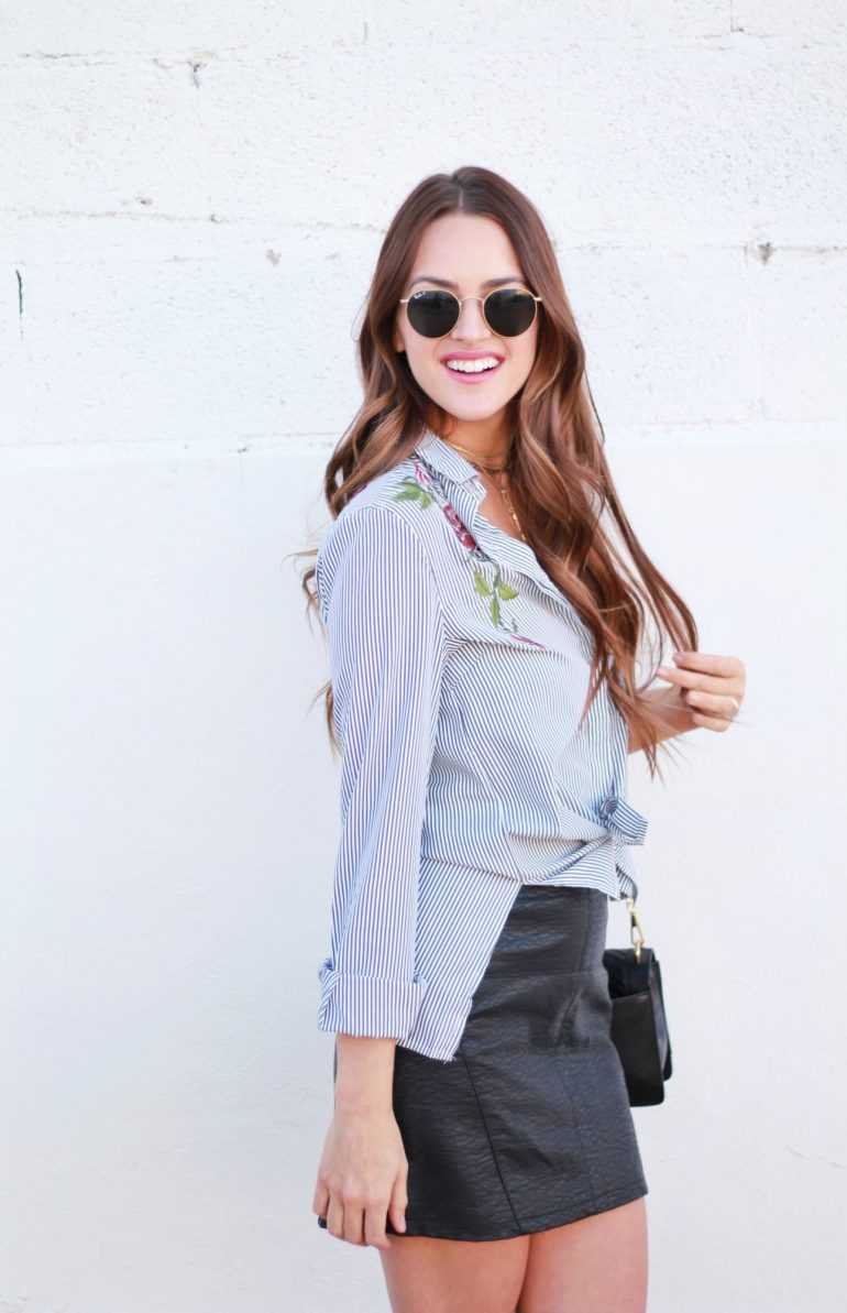 Embroider Me: how to style the embroidery trend for spring. Plus, a round up of all the best embroidered pieces from shoes to bags to clothing.