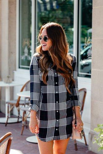 Shirt dresses for Fall via A Lo Profile.