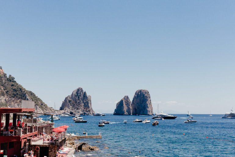 Capri Travel Guide via A Lo Profile