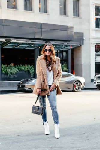 Teddy and Faux Fur Jackets via A Lo Profile