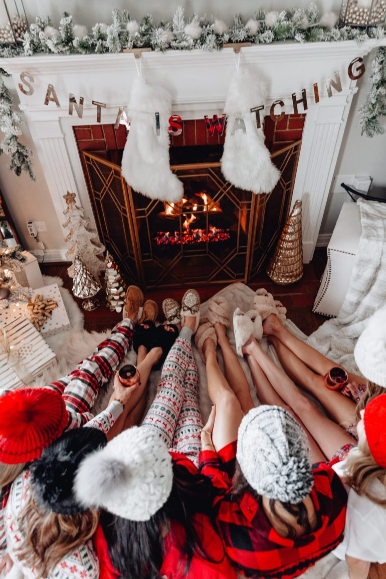 Sharing my family's tradition with Christmas pajamas and a ton of holiday pajamas and my guide to holiday pajamas with options in all price ranges.