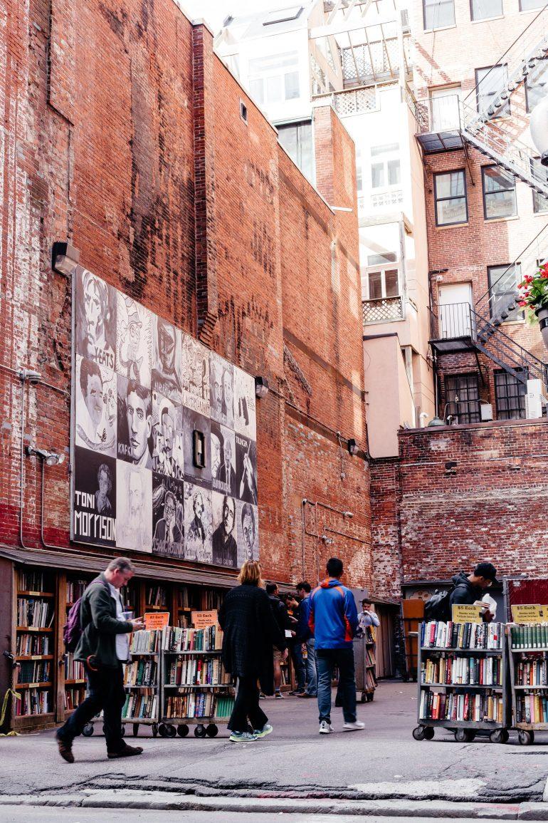 Brattle Book Shop in Boston via A Lo Profile's Boston Travel Guide