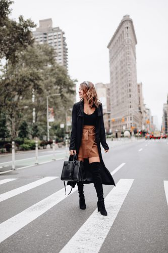Sharing my NYC outfit recap and making it easy to shop all my New York outfits in one place so you know what to wear in NYC the next time you visit.