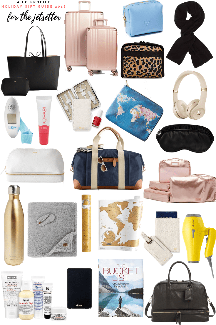 Sharing my roundup of the best gifts for the jetsetter so you can afnd the perfect present for the travel junkie and adventurer in your life.