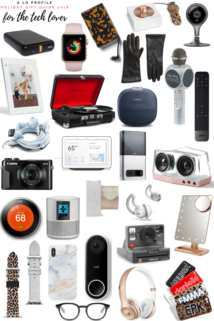Rounding up the best gifts for the tech lover in your life. There are so many cool gift ideas for the tech junkie in a ton of price ranges.