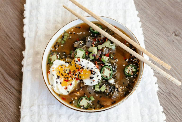 Whole 30 ramen zoodle soup by A Lo Profile