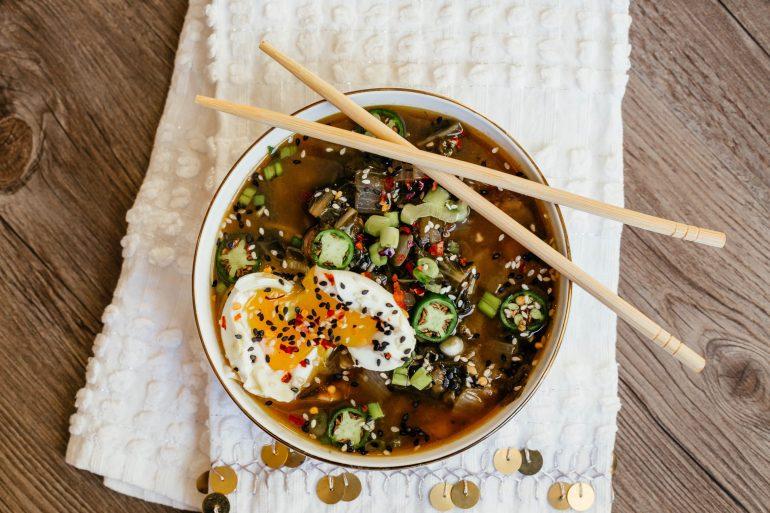 Whole 30 ramen zoodle soup by A Lo Profile