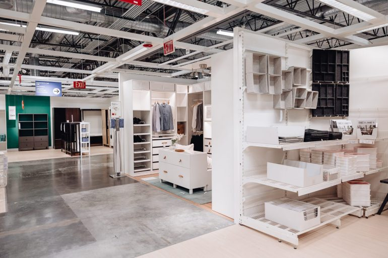 Sharing my Closet (or Cloffice) progress and the IKEA PAX design process I did in collaboration with IKEA Frisco to design the closet shelving of my dreams!