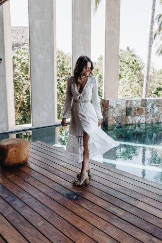 Sharing a Bride to Be shopping guide including the perfect white dresses, clothing, & accessories for every occasion for all of you soon to be brides.