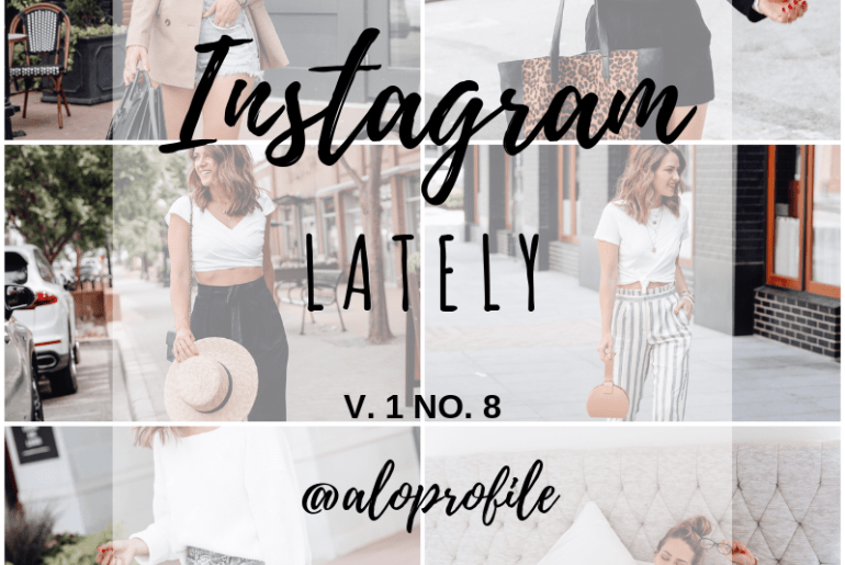 Sharing a ton of August outfit ideas in my Instagram Lately V1 No8 including everything I posted in the LiketoKnow.it app during the past month.