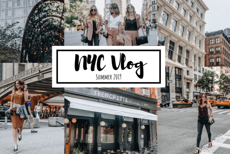 NYC Vlog Summer 2019 sharing the behind the scenes of my ten day summer girls trip in New York City with glimpses into where I ate & drank & what I did.