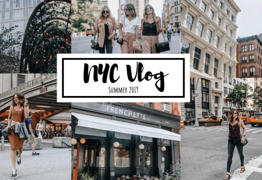 NYC Vlog Summer 2019