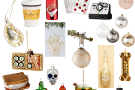 Sharing a round up of the cutests Christmas ornaments including basic ornaments, sets, & also fun ornaments for any one on your list.