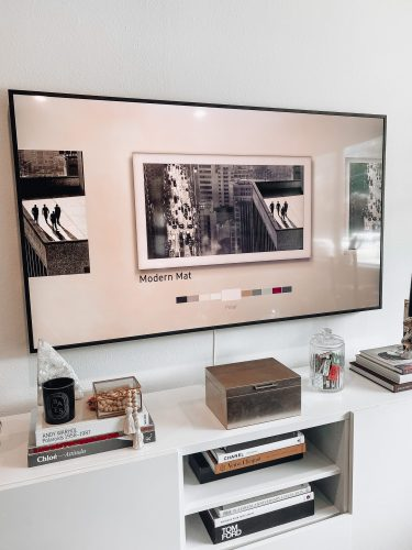 The Frame TV mat options