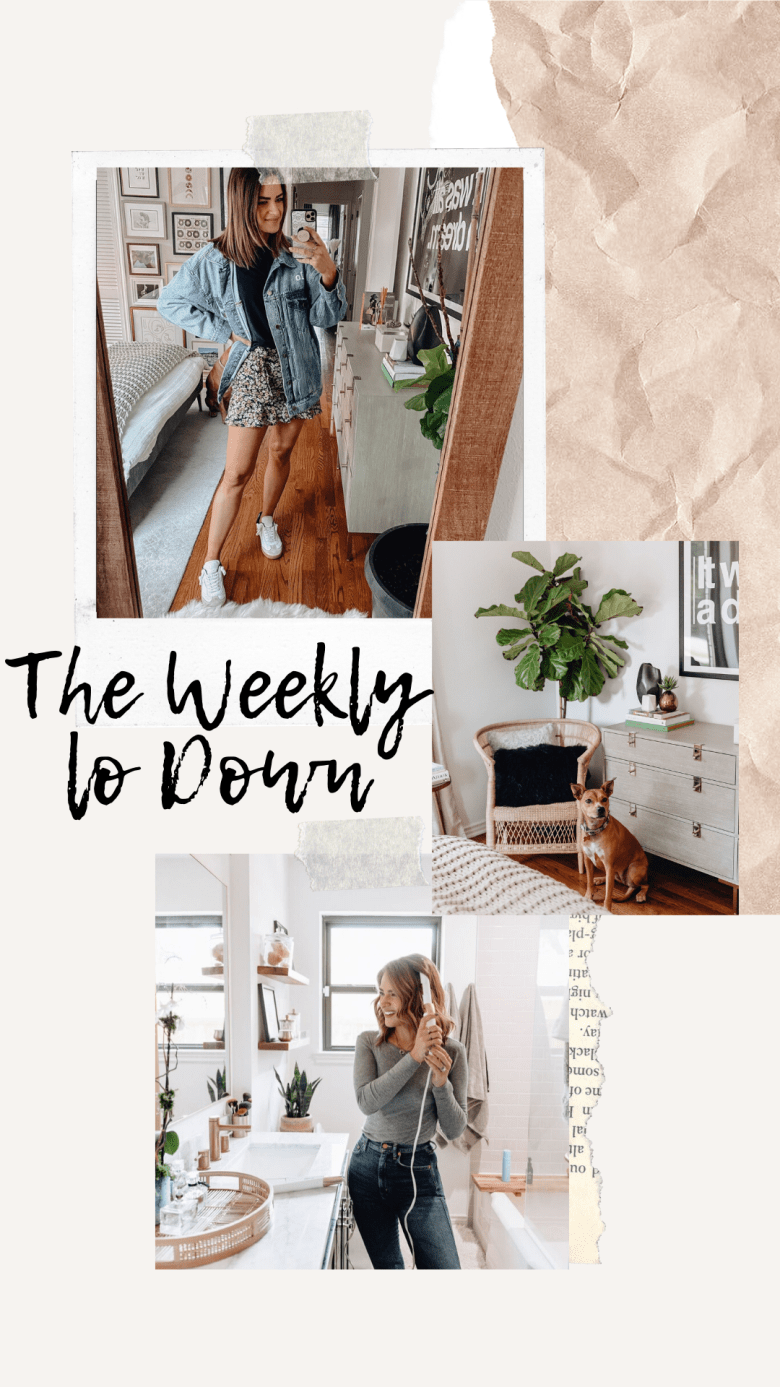 Sharing The Weekly Lo Down including a list of things I'm loving online, weekend sales, discount codes, & recent blog posts you may have missed!