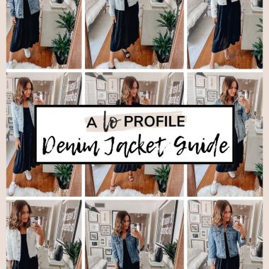 Sharing my denim jacket guide with all of the best options for spring including jackets in every style, wash, & price point.