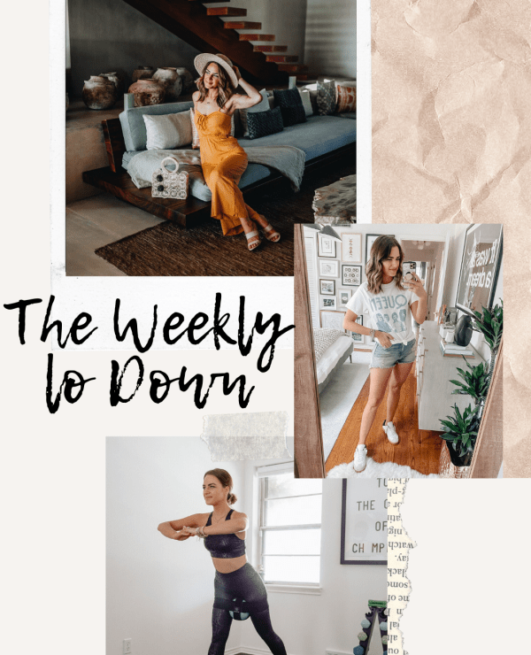 Sharing this week's edition of The Weekly Lo Down featuring a ton of great memorial day sales & fun finds I've seen over the past week.