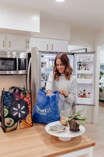Sharing a simple relationship hack & how we use Walmart online grocery pickup & delivery to not only save time, but save ourselves from a silly fight!