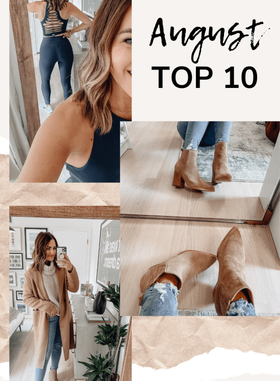Sharing a roundup of my August top 10 based on the items you all clicked on & purchased most from my recommendations last month.