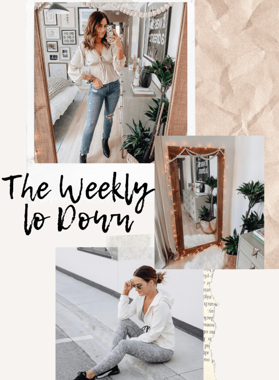 The Weekly Lo Down | 11.13.2020 featuring my fav online finds, your questions & link requests, weekend deals, discoutn codes, recent blog posts, & more.